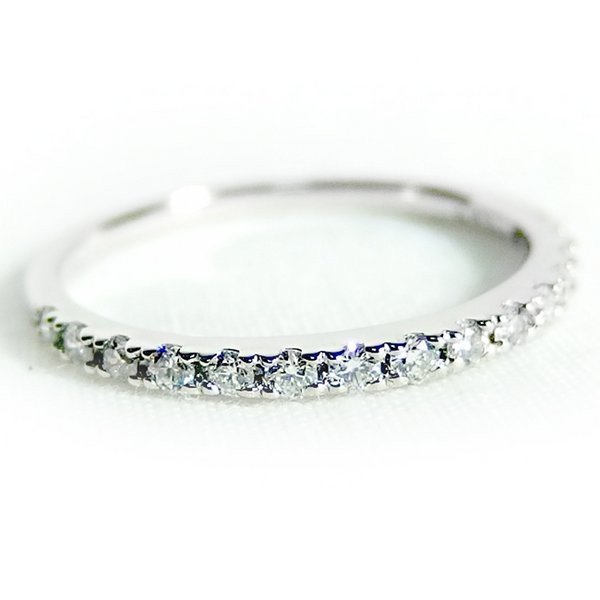 魅力の 【5%還元】ダイヤモンド リング ハーフエタニティ 0.3ct 11号 プラチナ Pt900 ハーフエタニティリング 指輪, Rack World 18414bbf