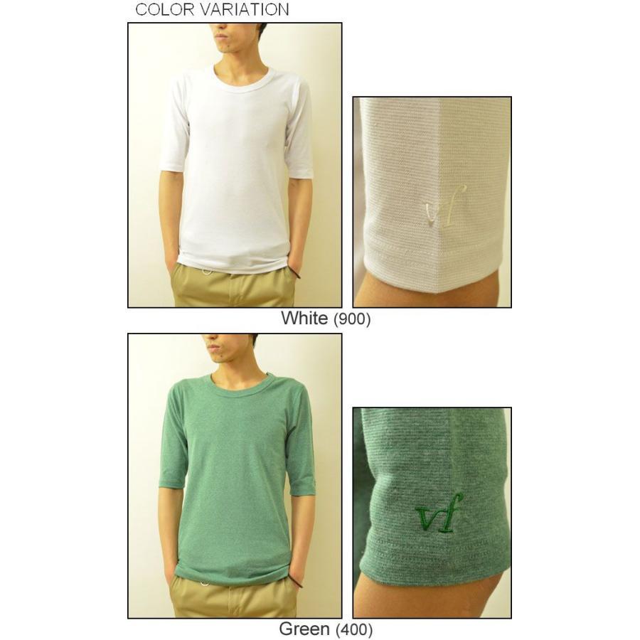 VANILLA FUDGE(ヴァニラファッジ) スパンフランス Uネック ユースサイズ 5分袖Tシャツ メンズ 無地 レディ−ス ユニセックス 袖 刺繍 JV-2065421|robinjeansbug|04