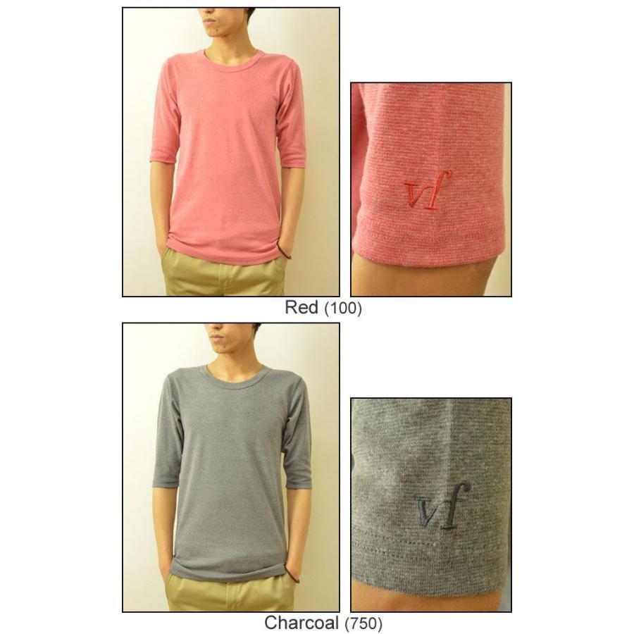 VANILLA FUDGE(ヴァニラファッジ) スパンフランス Uネック ユースサイズ 5分袖Tシャツ メンズ 無地 レディ−ス ユニセックス 袖 刺繍 JV-2065421|robinjeansbug|05
