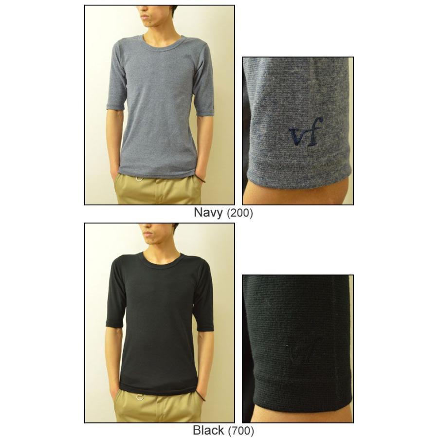 VANILLA FUDGE(ヴァニラファッジ) スパンフランス Uネック ユースサイズ 5分袖Tシャツ メンズ 無地 レディ−ス ユニセックス 袖 刺繍 JV-2065421|robinjeansbug|06