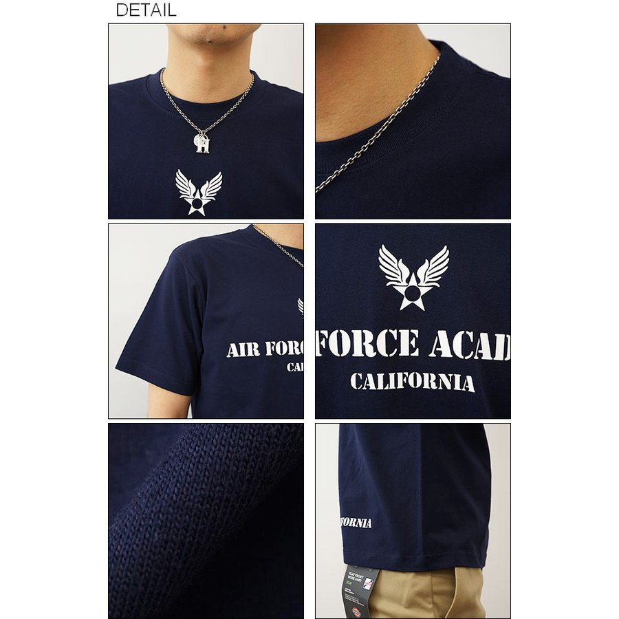 Air Force Academy オリジナルエアフォース ミリタリープリント 半袖Tシャツ アメリカ空軍 米軍 アカデミー 士官学校 メンズ レディース 大きいサイズ ST-AFACA robinjeansbug 03