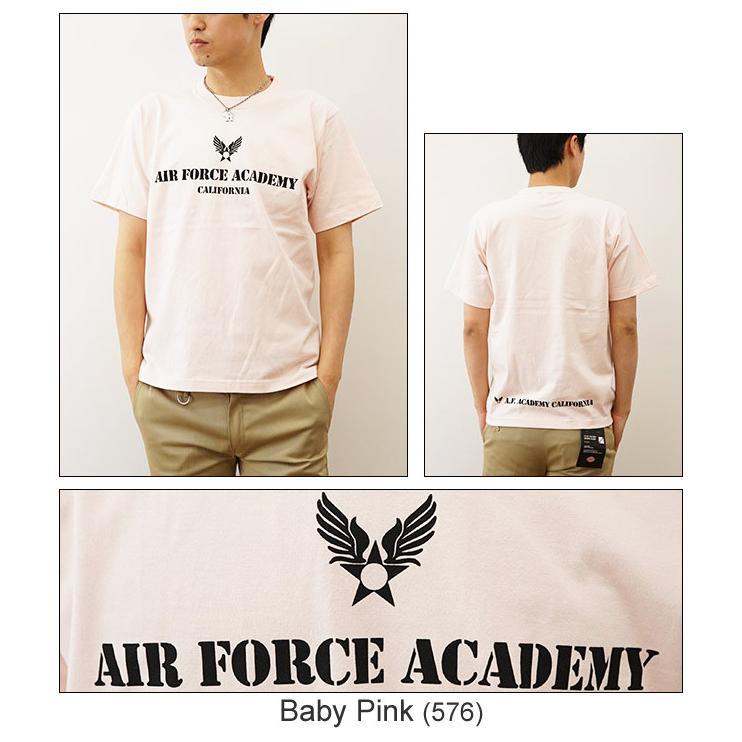 Air Force Academy オリジナルエアフォース ミリタリープリント 半袖Tシャツ アメリカ空軍 米軍 アカデミー 士官学校 メンズ レディース 大きいサイズ ST-AFACA robinjeansbug 05