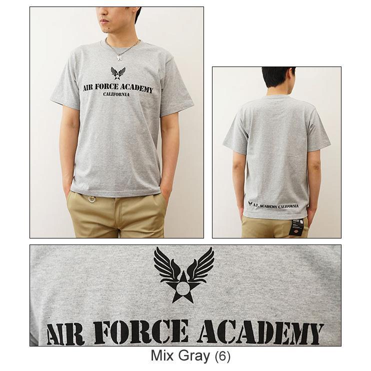Air Force Academy オリジナルエアフォース ミリタリープリント 半袖Tシャツ アメリカ空軍 米軍 アカデミー 士官学校 メンズ レディース 大きいサイズ ST-AFACA robinjeansbug 06