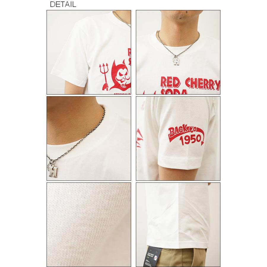 RED CHERRY SODA オリジナルアメカジプリント 半袖Tシャツ レトロ レッドチェリーソーダ コーラ アメリカ メンズ 大きいサイズ ST-RCSODA|robinjeansbug|03
