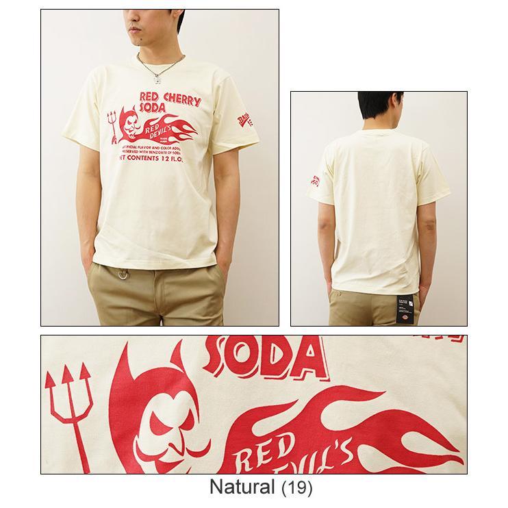 RED CHERRY SODA オリジナルアメカジプリント 半袖Tシャツ レトロ レッドチェリーソーダ コーラ アメリカ メンズ 大きいサイズ ST-RCSODA|robinjeansbug|05