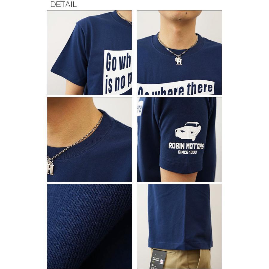 TIRE TRACK オリジナルタイヤトラックプリント 半袖Tシャツ タイア跡 アメ車 旧車 パーツ メンズ レディース 大きいサイズ ビッグサイズ ST-TIRETR|robinjeansbug|03