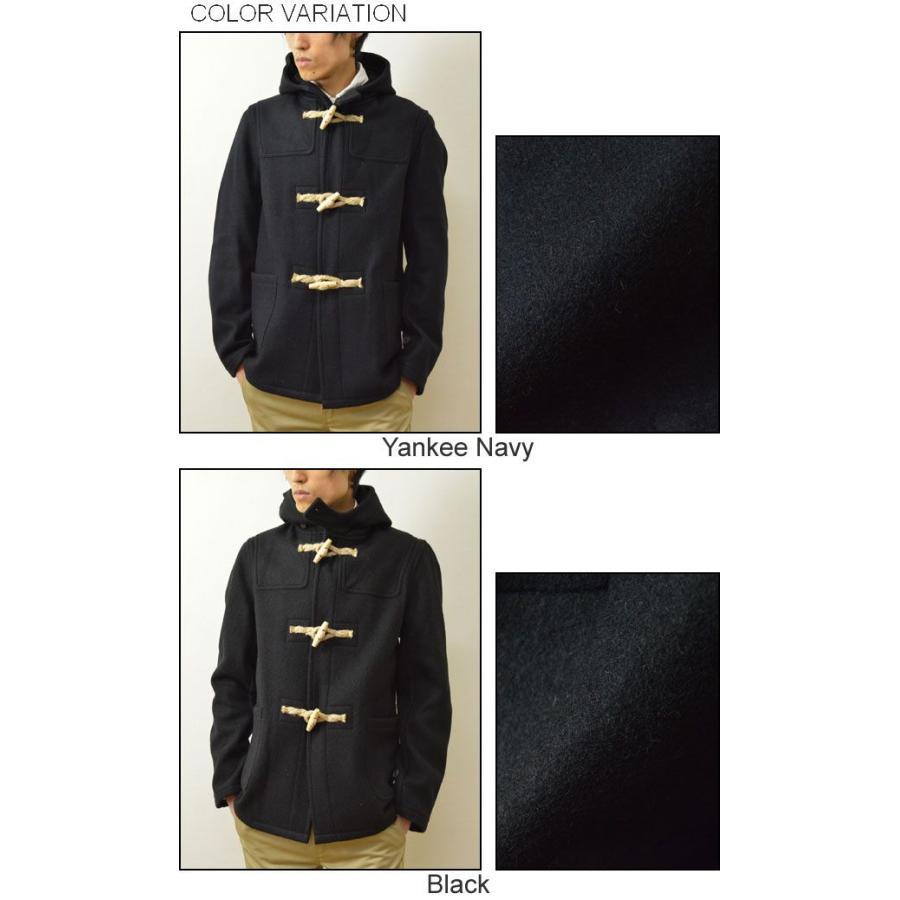 FIDELITY(フィデリティ) アメリカ製 ミドル ダッフルコート メンズ アウター メルトン ウール ジャケット USA トグル 24オンス フィデリティー 24019-R-3-14 robinjeansbug 04
