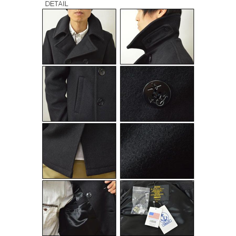 FIDELITY(フィデリティ) アメリカ製 ミドル Pコート メンズ アウター メルトン ウール ピーコート ジャケット USA 22オンス フィデリティー 22209-R-W-14|robinjeansbug|03