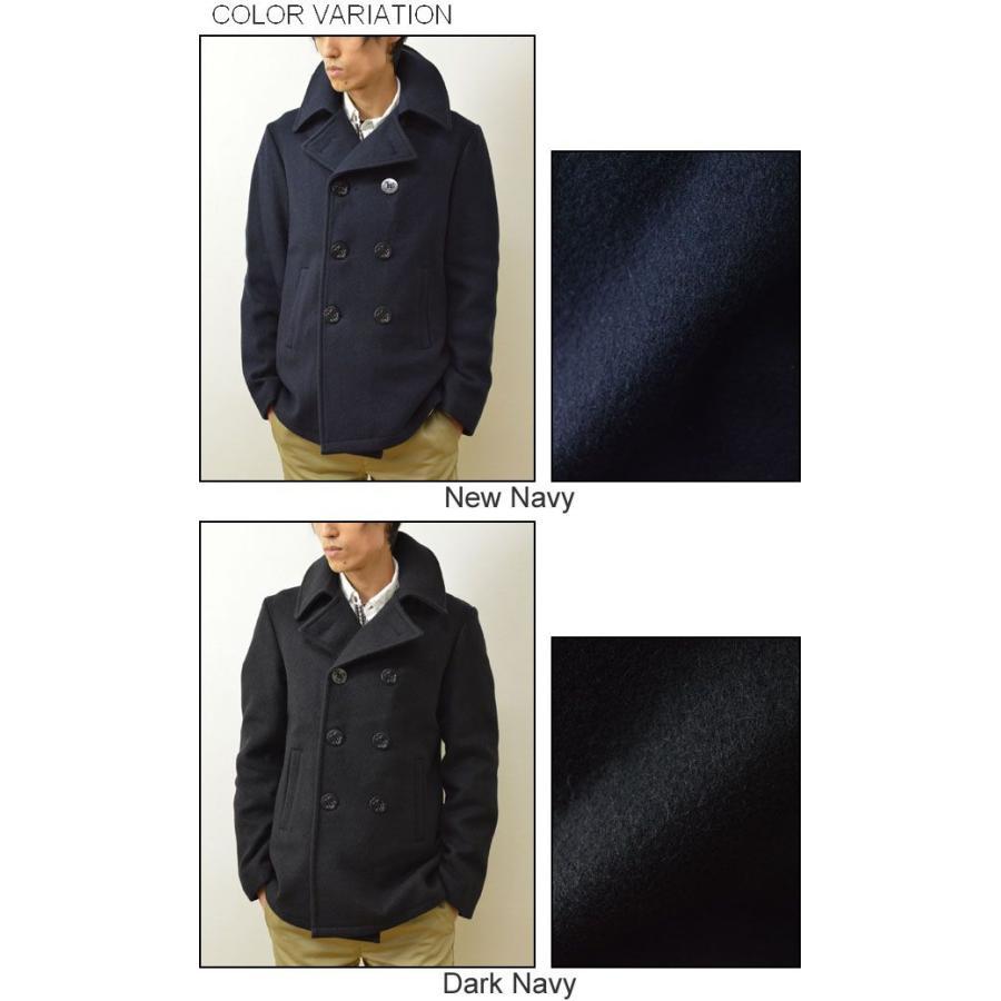 FIDELITY(フィデリティ) アメリカ製 ミドル Pコート メンズ アウター メルトン ウール ピーコート ジャケット USA 22オンス フィデリティー 22209-R-W-14|robinjeansbug|04