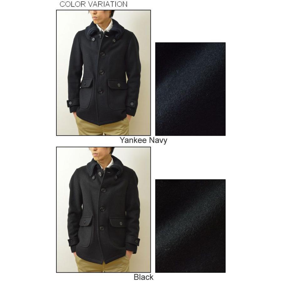 FIDELITY(フィデリティ) アメリカ製 ドンキーコート メンズ アウター メルトン ウール ジャケット USA 24オンス肉厚 フィデリティー F1465M robinjeansbug 04