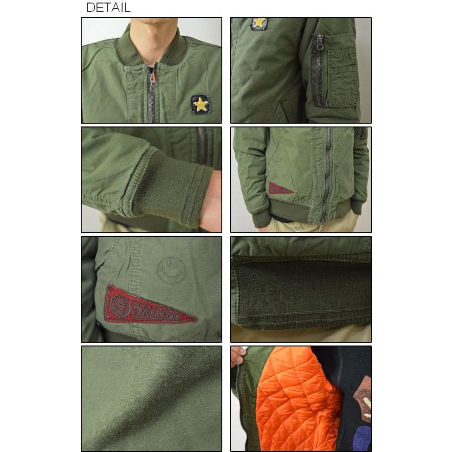 KRIFF MAYER(クリフメイヤー) MA-1 ジャケット メンズ 中綿 アウター ミリタリー ブルゾン フライト ワッペン 刺繍 1434001 robinjeansbug 03