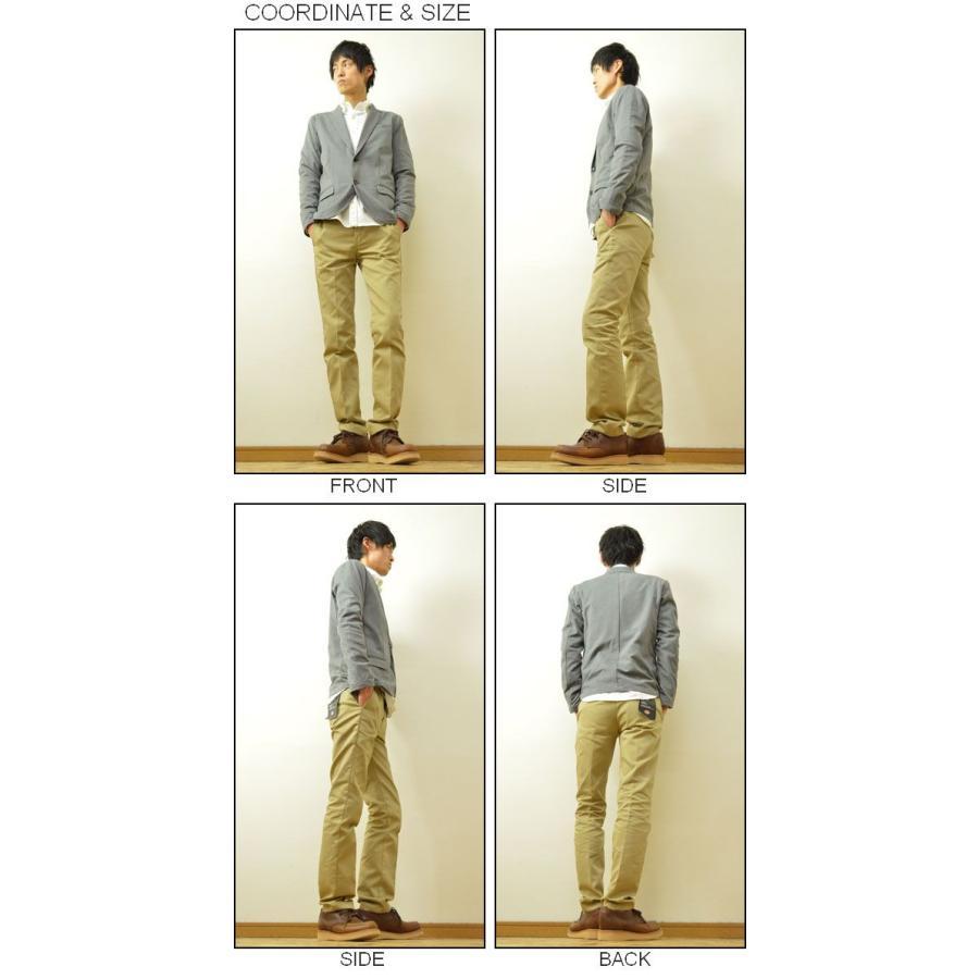 Slick(スリック) モクロディー テーラードジャケット メンズ 2つボタン ドレス 伸縮 ノッチドラペル 5168547|robinjeansbug|02