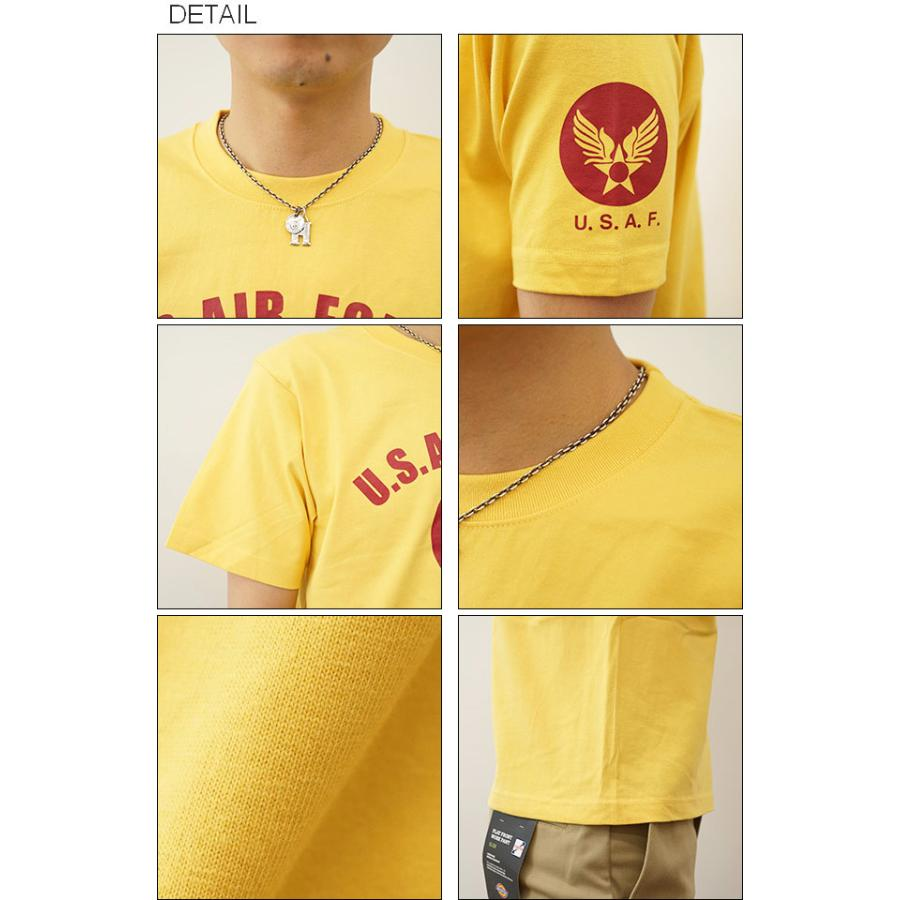 半袖 Tシャツ メンズ U.S. AIR FORCE CA オリジナル エアフォース ミリタリー プリント アメカジ 空軍 米軍 アーミー 大きいサイズ キングサイズ 対応 ST-CA|robinjeansbug|03