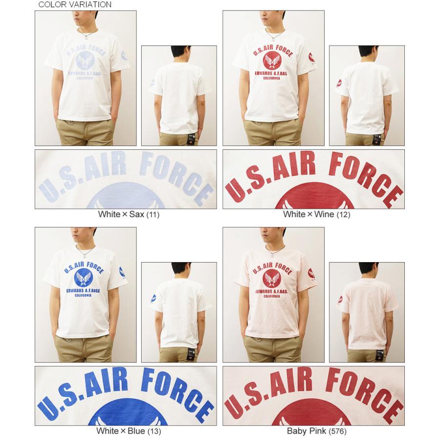半袖 Tシャツ メンズ U.S. AIR FORCE CA オリジナル エアフォース ミリタリー プリント アメカジ 空軍 米軍 アーミー 大きいサイズ キングサイズ 対応 ST-CA|robinjeansbug|04