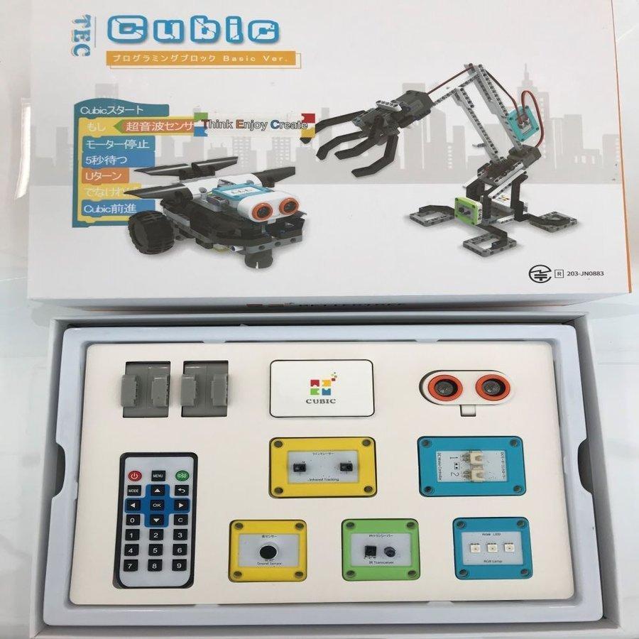 テックキュービック ベーシックセット TEC Cubic robocube 02