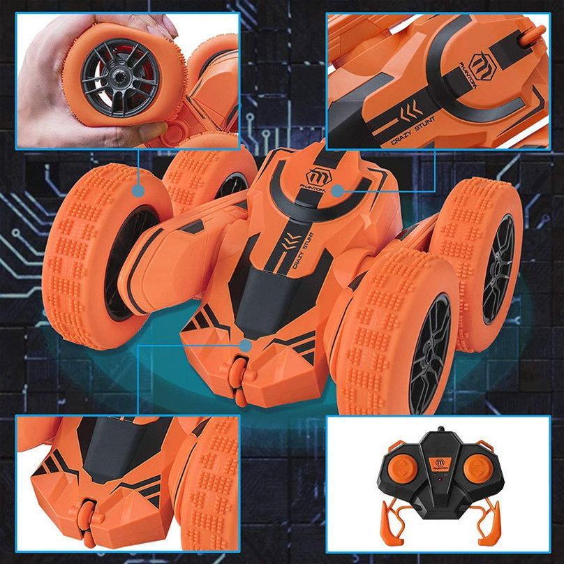 ラジコンカー 子供 オフロード 人気 速い ラジコン 360度回転 両面走行 四輪駆動 ドリフト アクション 室内 室外 ミニ 小さい 小型 車 おもちゃ 玩具|robotplaza|06