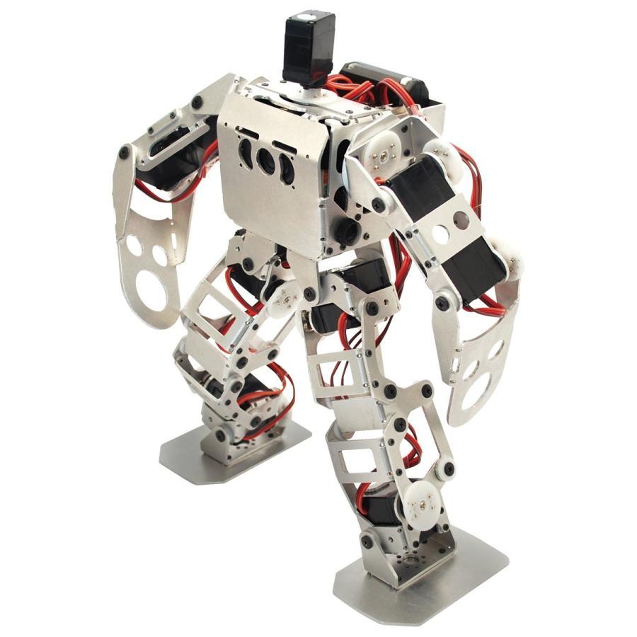 (セット) 二足歩行ロボット Robovie-nano (組み立てキット版) 青toothセット [ラジコン]