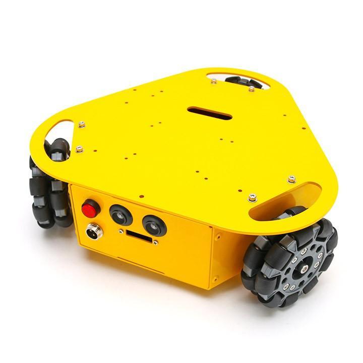 3WDオムニホイールロボット(三角タイプ) (10003) [台車ロボット・研究開発]