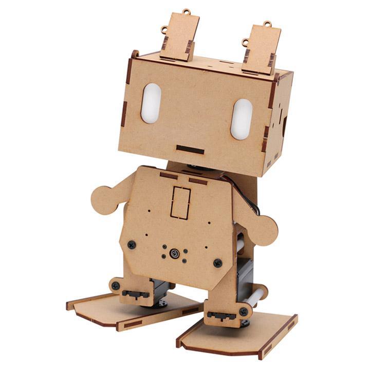 Arduino互換ボード搭載 二足歩行ロボット ピッコロボIoT 組立完成版 [入門キット]
