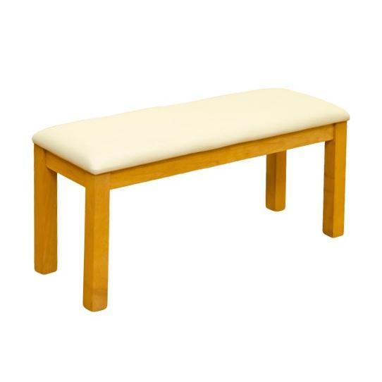 安定感のあるコンパクトサイズのダイニングベンチ 幅96cm 奥行35cm Harp|rochelobe-furniture|10