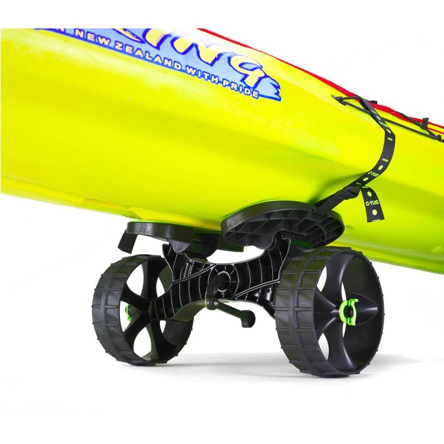 C-TUG サンドトラック (砂地仕様) カヤック&カヌー カート ベルト付き by Rail Blaza (レイルブレイザ) ドーリー キャリー|rockfish-link|10
