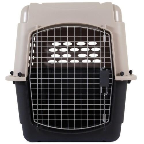 ペットメイト バリケンネル 30から50lbs 13.5から22.7kg 犬用 トープ ブラック|rocky|02