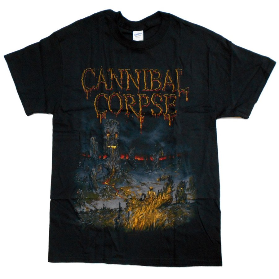 CANNIBAL CORPSE Tシャツ Skeletal Domain Cover 正規品 rockyou