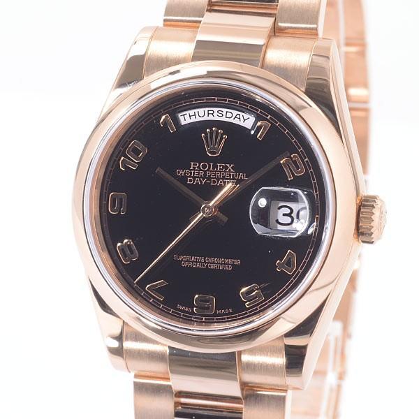 人気ブランドの ロレックス メンズ腕時計 デイデイト 118205 ピンクゴールド A品 1418138_新宿店, 1号店 4c7a7013