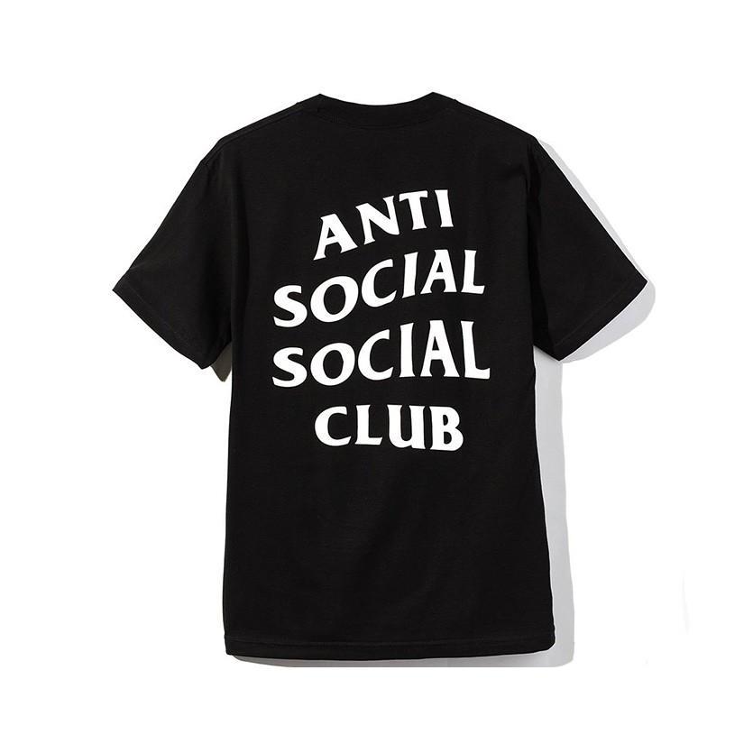 Anti Social Social Club Tシャツ メンズ レディース ユニセックス 半袖 黒 ブラック アンチソーシャルソーシャルクラブ Logo Tee 2 TWO TEE LOGO-T-2-B|rodeobros|03