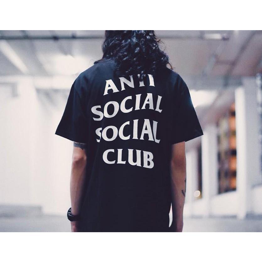 Anti Social Social Club Tシャツ メンズ レディース ユニセックス 半袖 黒 ブラック アンチソーシャルソーシャルクラブ Logo Tee 2 TWO TEE LOGO-T-2-B|rodeobros|04
