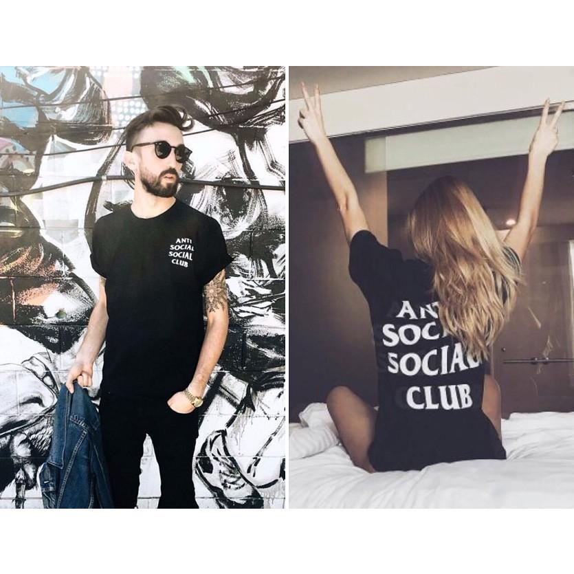 Anti Social Social Club Tシャツ メンズ レディース ユニセックス 半袖 黒 ブラック アンチソーシャルソーシャルクラブ Logo Tee 2 TWO TEE LOGO-T-2-B|rodeobros|05