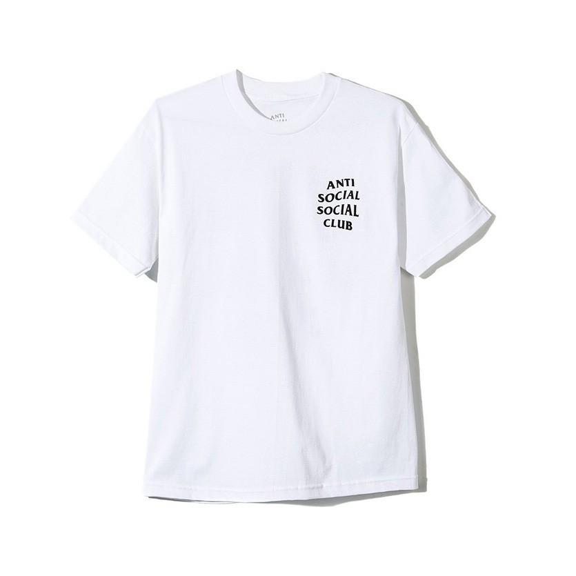 Anti Social Social Club Tシャツ メンズ レディース ユニセックス 半袖 白 ホワイト アンチソーシャルソーシャルクラブ Logo Tee 2 TWO TEE LOGO-T-2-W rodeobros 02