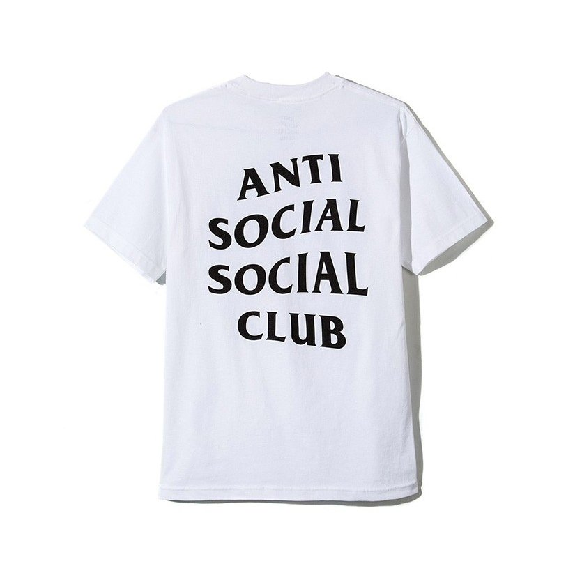 Anti Social Social Club Tシャツ メンズ レディース ユニセックス 半袖 白 ホワイト アンチソーシャルソーシャルクラブ Logo Tee 2 TWO TEE LOGO-T-2-W rodeobros 03