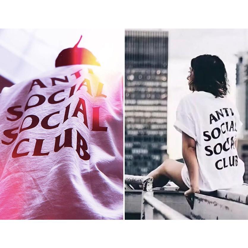 Anti Social Social Club Tシャツ メンズ レディース ユニセックス 半袖 白 ホワイト アンチソーシャルソーシャルクラブ Logo Tee 2 TWO TEE LOGO-T-2-W rodeobros 04