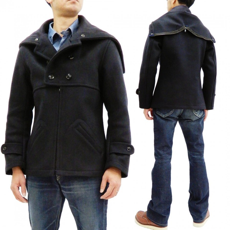 ミスターフリーダム シュガーケーン SC14240 ハドソンジャケット メンズ ウールメルトン Hudson Jacket 新品