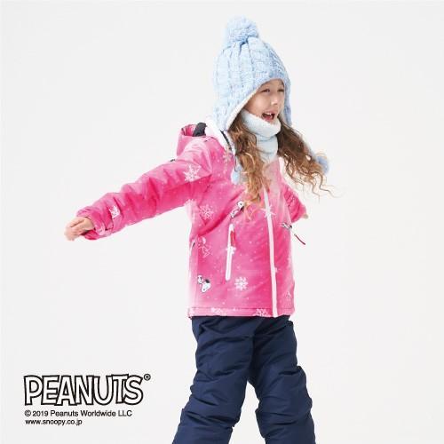 スノーボードウェア スキーウェア キッズ ジュニア 男の子 女の子 子供 スヌーピー 防水 防寒 ジャケット VESP 120 130 140 150 VSJJ1002|roji-shop|04