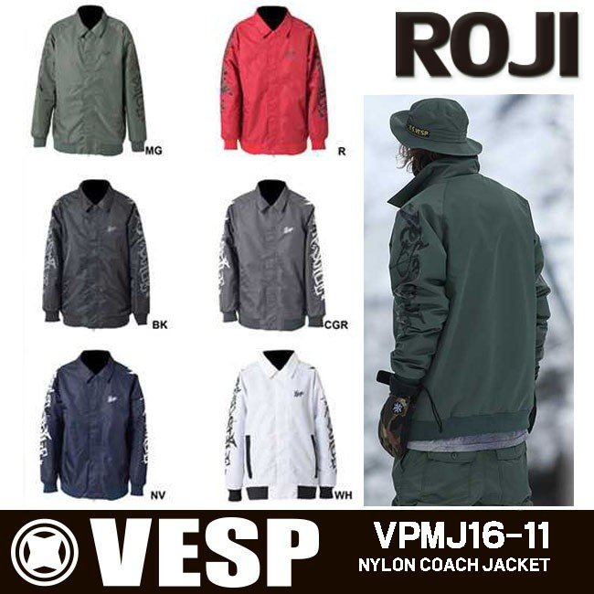 VESP ベスプ ジャケット メンズ レディース 男女兼用 スノボウェア スノーボードウェア スキーウェア VPMJ16-11 アウトレット