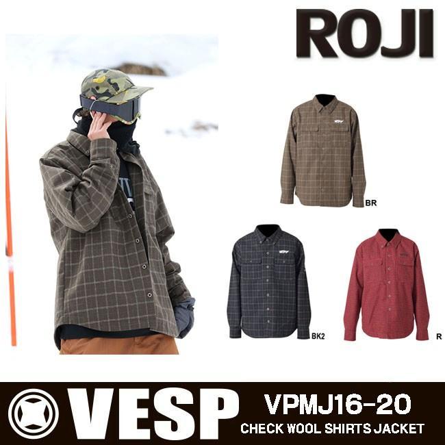 VESP ベスプ ジャケット メンズ レディース 男女兼用 スノボウェア スノーボードウェア スキーウェア VPMJ16-20 アウトレット