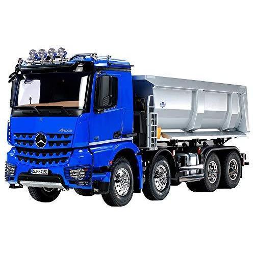 タミヤ 1/14 電動RCビッグトラックシリーズ No.65 メルセデス ベンツ アロクス 4151 8x4 ダンプトラック プロポ付 56365 rokufi