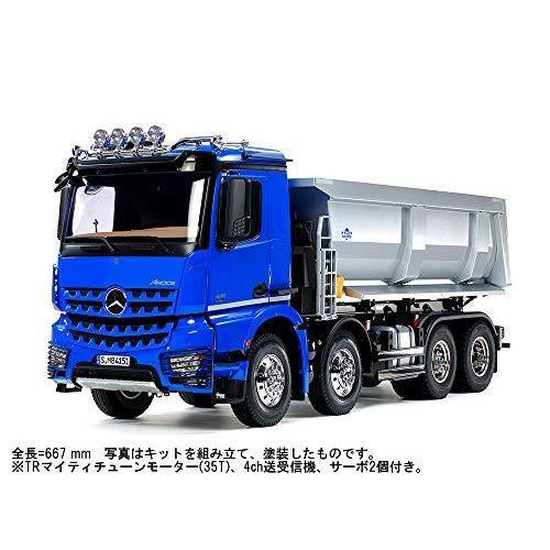 タミヤ 1/14 電動RCビッグトラックシリーズ No.65 メルセデス ベンツ アロクス 4151 8x4 ダンプトラック プロポ付 56365 rokufi 02