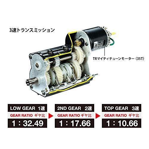 タミヤ 1/14 電動RCビッグトラックシリーズ No.65 メルセデス ベンツ アロクス 4151 8x4 ダンプトラック プロポ付 56365 rokufi 04