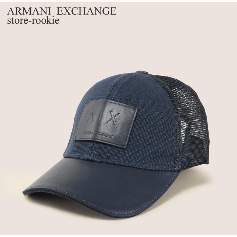9a18758cbdf Armani Exchange Men Logo Patch Mesh Baseball cap one size new with tags
