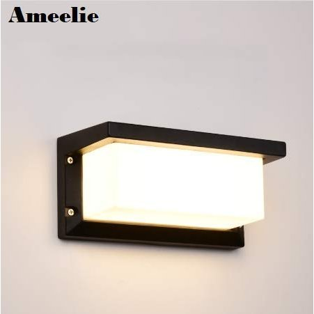 Ameelie LED 玄関ライト ポーチライト ウォールライト ブラケットライト アウトドアライト 玄関灯 防雨型 省エネ led門柱灯 壁取り付け