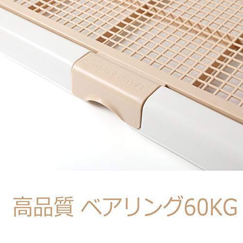 Smart Paws 76X62CMしつけ用 ステップトレー レギュラー 犬のトイレペット トイレ (コーヒー) room-109 04