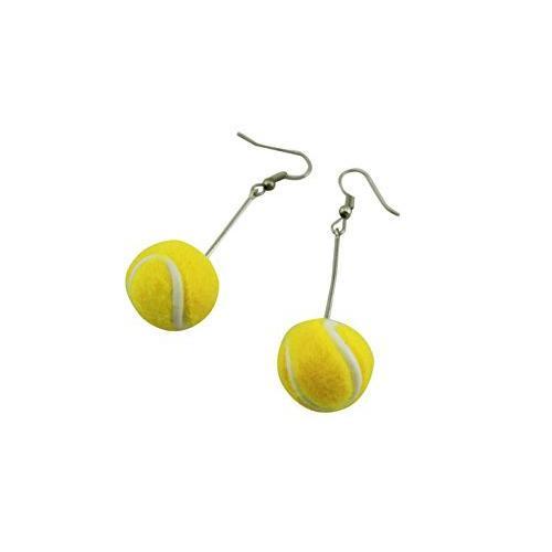 naissant かわいい 揺れる ボール 型 ピアス テニス テニスボール 応援 観戦 グッズ|room-109|02