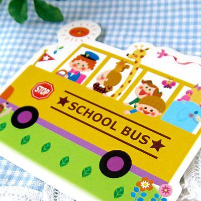 ステッカー SCHOOL BUS シール スクールバス 子供 学校|room505|02