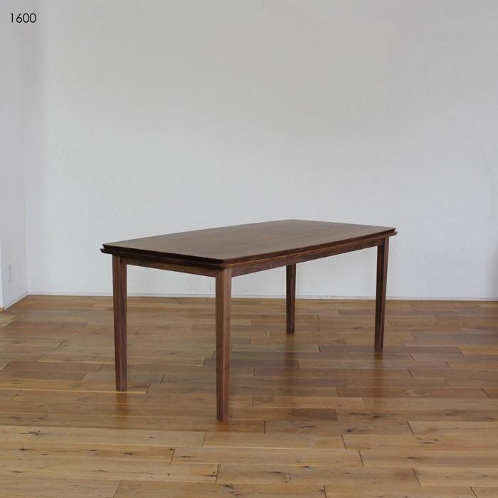 LIVWOOD ハンナ ダイニングテーブル テーブル 幅 1600 奥行 820 高さ 700 mm 国産 日本製 スタイリッシュモダン オイルまたはエコウレタン塗装仕上げ