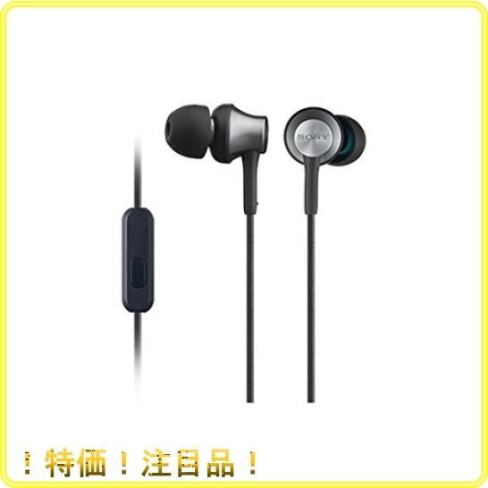 ソニー イヤホン MDR-EX650AP : カナル型 真鍮製ハウジング マイク付 ブラスブラック MDREX650AP BQ|roomy29