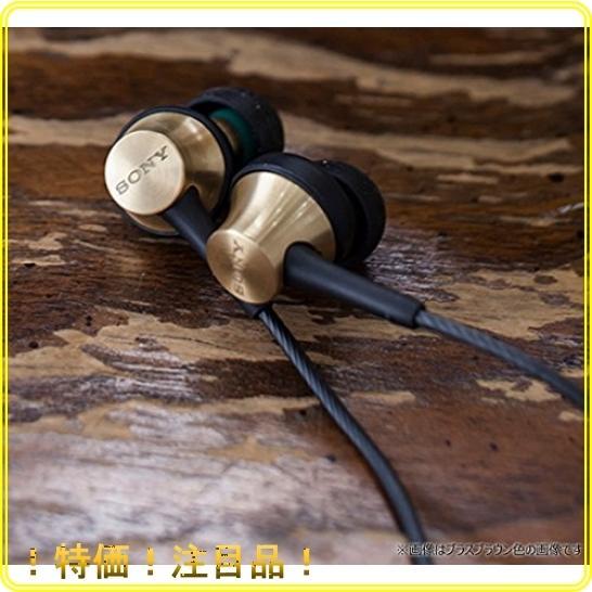 ソニー イヤホン MDR-EX650AP : カナル型 真鍮製ハウジング マイク付 ブラスブラック MDREX650AP BQ|roomy29|05