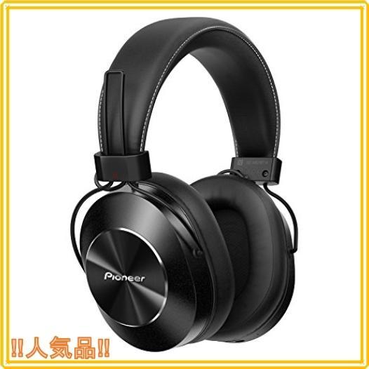 パイオニア SE-MS7BT Bluetoothヘッドホン 密閉型/ハイレゾ対応(コード接続時) ブラック SE-MS7BT-K|roomy29